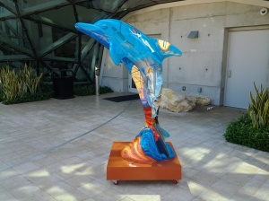 Dolphin outside Dali Museum